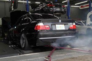 Koliko moči je tekom let in po 280.000 kilometrih izgubil BMW M3?
