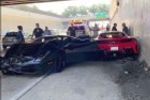 Ovo se ne viđa često: Sudarila se tri Ferrarija VIDEO
