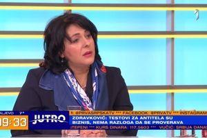"Dr Zdravković razbila velike mitove: ""Merenje antitela - nikako"" VIDEO"
