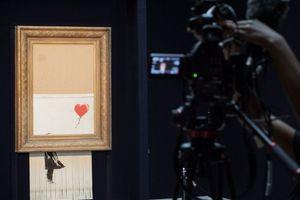Već ju je jednom uništio - prodaje se najpoznatije Benksijevo delo koje ima višemilionsku vrednost