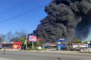 Russland: Mehr als 20 Verletzte bei Explosion einer Tankstelle