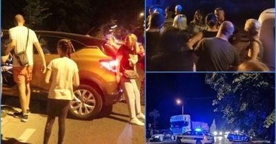 KOLIMA NA GRAĐANE, VIŠE IH UDARENO: Incident na protestu