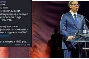 SNS-ovci plaćali 1.500 za dolazak na Vučićev govor