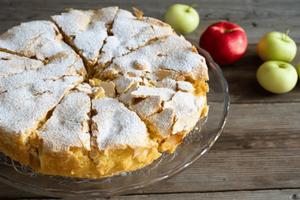 Nejrychlejší jablečný koláč s úžasnou chutí – stačí Vám 10 minut a 4 suroviny