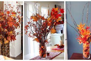 Naplňte skleněnou vázu podzimními plody – jednoduchá dekorace do domácnost!