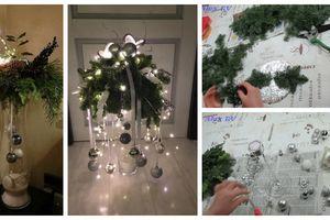 Vezměte kousek kartonu, alobal a jehličí: Vytvořte si krásné dekorace na zimu