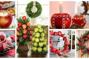 Úžasné dekorace z jablek – Vytvořte si svícen nebo kytici