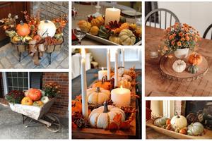 Přidejte do vaší podzimní dekorace také bílou dýni – Výsledek vás ohromí!