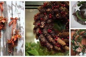 Využijte dlouhé šišky k podzimnímu tvoření – 20+ krásných inspirací
