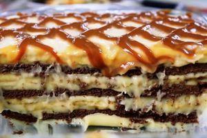Žádná trouba: Velmi jemný a lahodný koláč s chutí karamelu