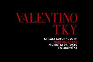 Valentino, la sfilata Pre Fall 2019 in diretta streaming