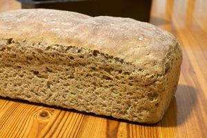 Hrustljav kruh brez kvasa, gotov v 45 min