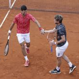 Novak i Dominik – atomski tenis na treningu VIDEO