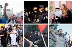 Protestniki so z neprijavljeni shodi naredili policiji oziroma slovenskim davkoplačevalcem za skoraj 900 tisoč evrov dodatnih stroškov
