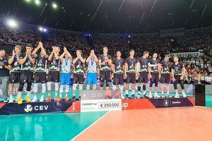 Slovenci osvojili odlično drugo mesto na evropskem prvenstvu v odbojki!