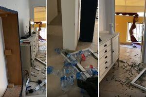 Igor okačio strašan snimak potpuno razrušenog stana: Ovako izgleda njegov dom posle napada Hamasa (VIDEO)