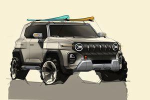 Korejci najavili X200: Novi SUV krase retro dizajn i pokretni krov (FOTO)