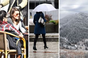 Red sunca, red kiše, pa red snega: Danas hladnije, a evo kada nas ponovo čeka toplije vreme