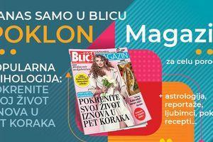 """Novi broj Magazina za celu porodicu danas na poklon u """"Blicu"""""""
