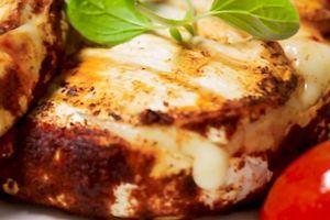 Grilovani sir sa povrćem