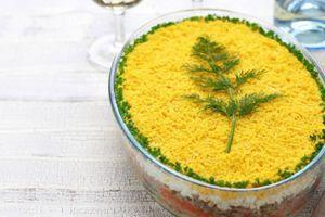 Recept za savršenu Mimoza salatu