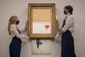 Benksijevo delo koje je na aukciji isekao u komade, sada je prodato za rekordnih 25 miliona dolara