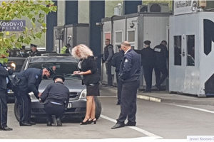 Kfor okončao praćenje nalepnica, preuzela kosovska policija