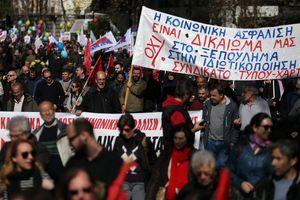 Masovni PROTEST u Grčkoj zbog REFORME penzionog sistema