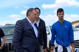 ORDEN ZA NOVAKA ĐOKOVIĆA! Srpski teniser dobio veliko priznanje koje mu je uručio Milorad Dodik!