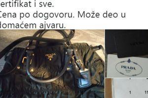 """""""Menjam Prada torbu za DOMAĆI AJVAR"""": Ovaj oglas je napravio haos na Tviteru, a od cene na etiketi će vas STREFITI SRČKA"""