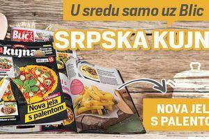 """Ukusni recepti i ove srede samo u poklon magazinu """"Srpska kujna"""""""