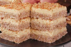 Kolač sa orasima na tri sprata menja svaku tortu i savršen je za vreme slava
