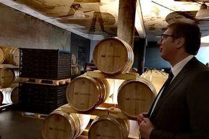 Vučić posetio vinariju kod Smederevske Palanke