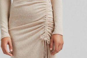 Savršenstvo ne postoji - ali ova duga haljina od trikotaže je prilično blizu