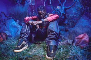 "NOIZZ patika: Travis Scott x Nike Air Force 1 ""Cactus Jack"""