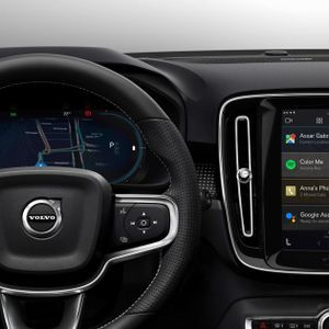 This is Volvo's new Infotainment and its something else