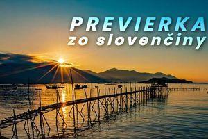 Rýchla previerka zo slovenského jazyka: Na koľko otázok odpoviete správne?
