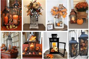 Proměňte obyčejnou lucerničku v krásnou podzimní dekoraci!