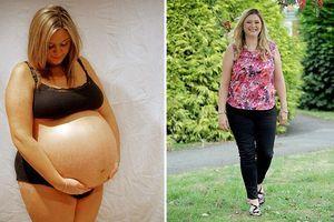 Bříško této těhotné ženy narostlo do neskutečných rozměrů
