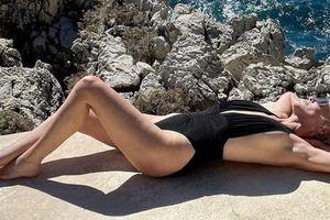 Za Sharon Stone se poletje še ni končalo #foto