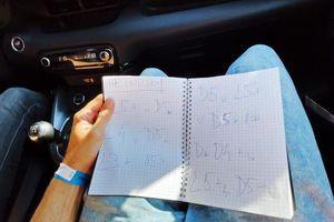 Sem bil res nor? To sem v avtomobilu počel prvič. #video