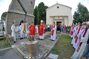 Nova zvonova ob 470-letnici župnije