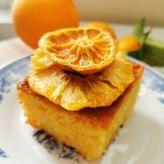 Πορτοκαλόπιτα με ολόκληρα πορτοκάλια
