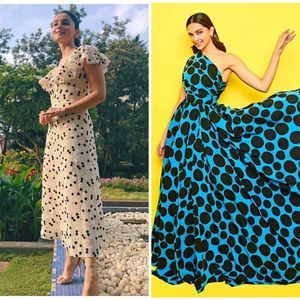 B-town ladies who aced the polka dot trend!