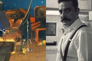 Ban was imposed on Haasan's Indian 2 sets?