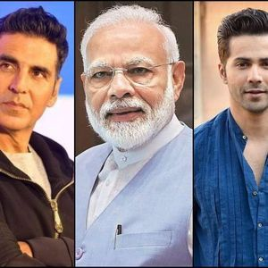PM Modi is all praise for Akshay and Varun