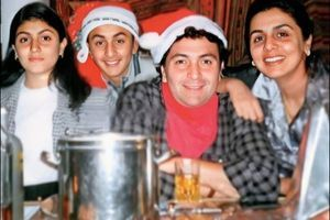 Throwback: Priceless pic of Rishi & family