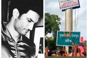 A road gets named after SSR in his hometown