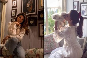 Inside Jacqueline's Mumbai apartment