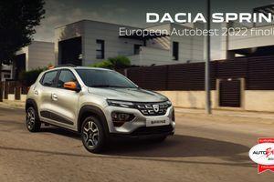 Dacia Spring u finalu za nagradu Auto Best 2022.